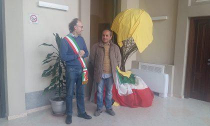 Inaugurata a Gerenzano l'opera di Francesco Fazio