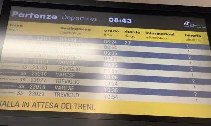 Continui ritardi ferroviari sulla tratta Varese-Milano