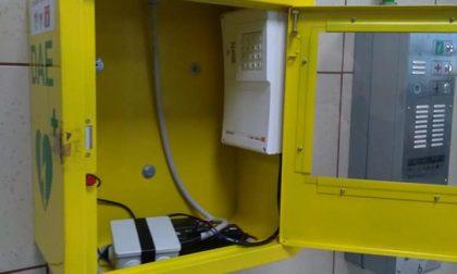 Rubato un defibrillatore in stazione a Cislago