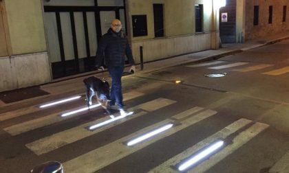 I passaggi pedonali diventano più sicuri a Parabiago