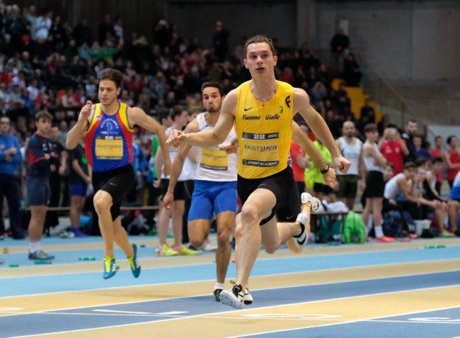 Filippo Tortu parte con un nuovo record italiano nei 60 metri