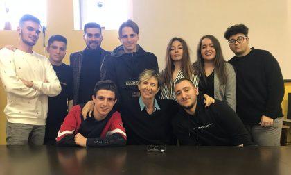 Gli studenti del Maggiolini protagonisti in tv