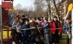 Nuovo parco giochi, addio al degrado in via Balbi FOTO e VIDEO