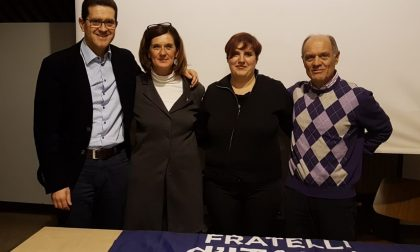 Elezioni Rescaldina, Maria Angela Franchi si è presentata