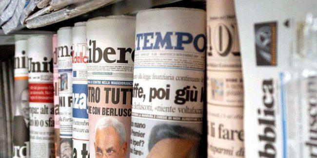 Edicolanti in piazza a Bergamo: &#8220&#x3B;Chiudiamo, gli editori ci affamano&#8221&#x3B;