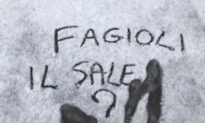 Allarme neve a Saronno, Silighini spala la neve in alcuni tratti
