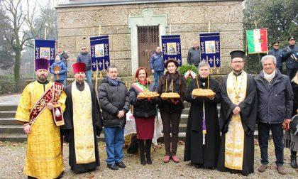 Commemorazione all'Ossario per i caduti transilvani