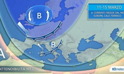 Giovedì nuova perturbazione: pioggia al Nord e neve sulle Alpi PREVISIONI METEO