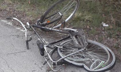 Incidente in bici per un diciasettenne