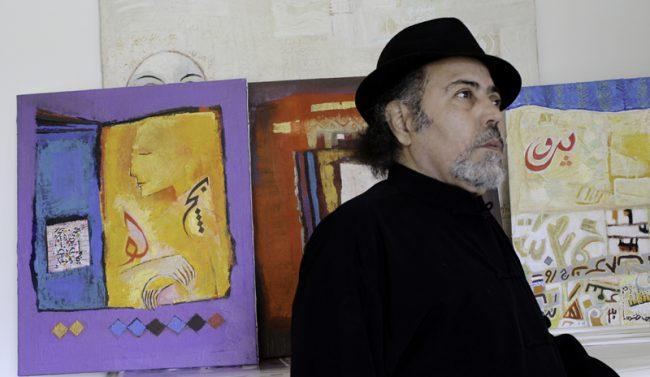 Castano, Ahmed nel suo atelier 1(1)