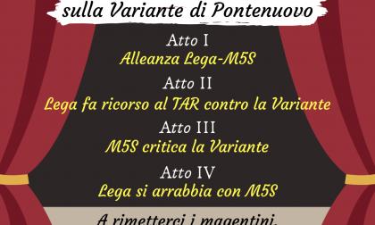"""Pd: """"Teatrino Giallo-verde sulla variante di Pontenuovo"""""""