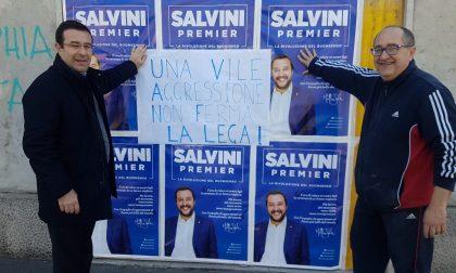 """Sede della Lega attaccata a Fagnano, il sottosegretario Candiani: """"Una vile aggressione non ci ferma"""""""
