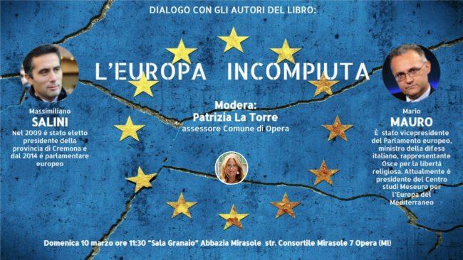 L'Europa incompiuta, incontro a Opera