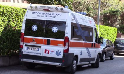 Violento scontro tra due auto a Busto Garolfo