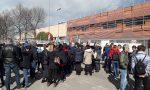 Protesta dei lavoratori alla Tessiture di Nosate VIDEO