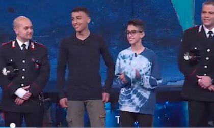 """Ramy e Adam, i piccoli eroi in Tv a """"Che tempo che fa"""""""