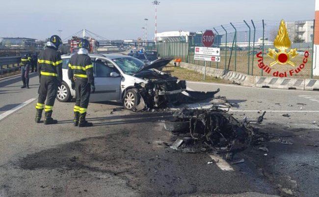 Turbigo, muore Armando Danna in un incidente a Malpensa