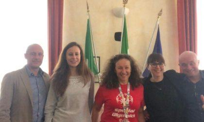 Bareggio festeggia la sua campionessa Special Olympics