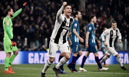 Juventus-Atletico, troppa emozione al secondo gol di Ronaldo: tradatese colto da infarto