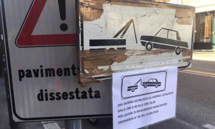 Via Roma lavori sospesi si attende il pronunciamento del Tar