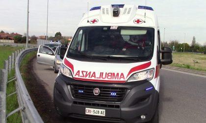 Rovinosa caduta da una scala, 44enne in ospedale