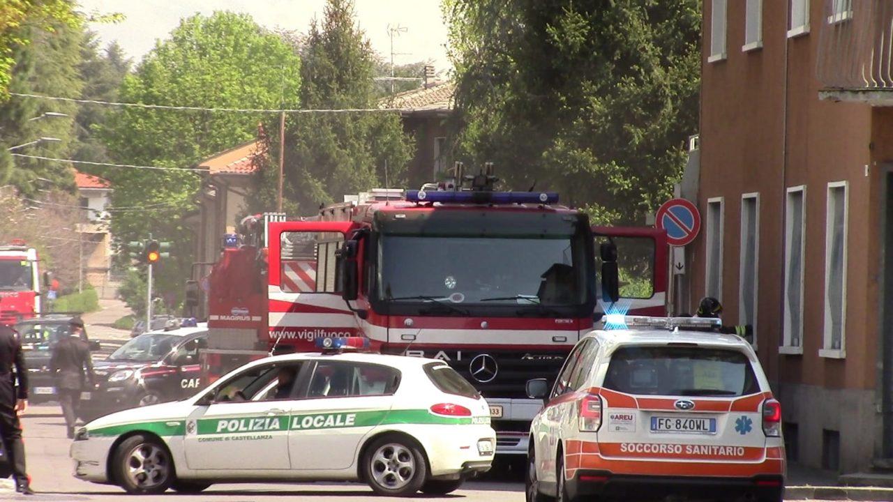 Incendio a Castellanza
