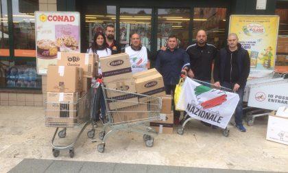Solidarietà Nazionale Groane al Conad di Caronno