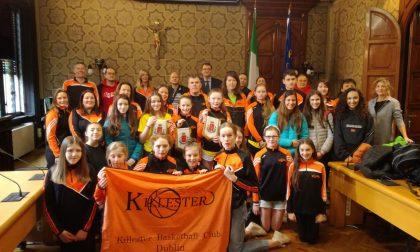 Il Killester di Dublino in comune a Rho con il sindaco