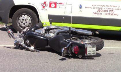 Incidente, auto contro moto: paura a Gerenzano FOTO