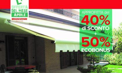 Ecobonus e tende da sole: outdoor di design per un indoor più fresco