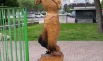Brucia la scultura per Giulia, vittima del fascismo
