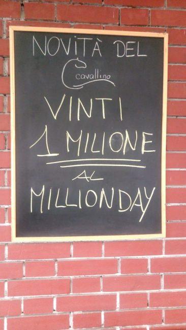 Vince un milione di euro giocandone uno
