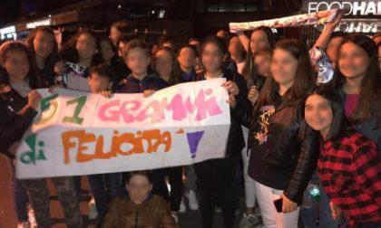 I 51 ragazzi dell'autobus sequestrato ospiti di Fedez al Mediolanum Forum di Assago FOTO