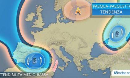 Torna l'alta pressione: clima più stabile e caldo. Ma tempo a Pasqua ancora incerto