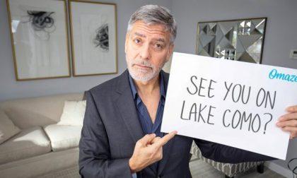 George Clooney e la moglie vi invitano a cena a sul Lago di Como per beneficenza VIDEO