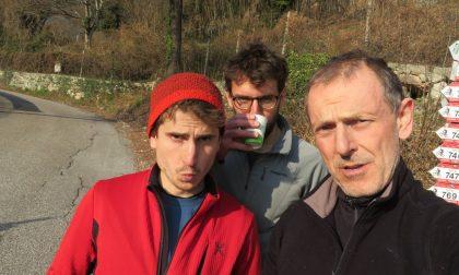 Montagna: Polidori apre una nuova via nella Parete di Padaro
