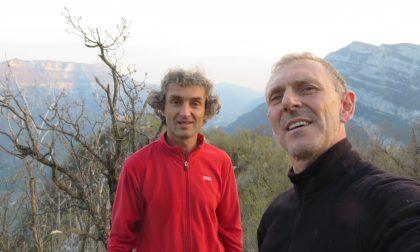 Polidori inarrestabile, aperta nuova via in Val D'Adige