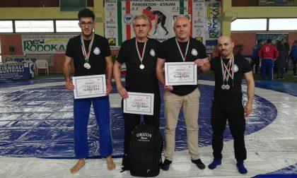 Campionati italiani assoluti di Pancrazio: successo per Busto Garolfo