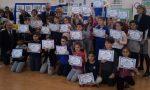 Sicurezza stradale, diplomi per i bimbi delle scuole di Cerro e Cantalupo FOTO