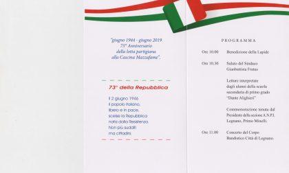 Cerimonia di commemorazione alla Cascina Mazzafame