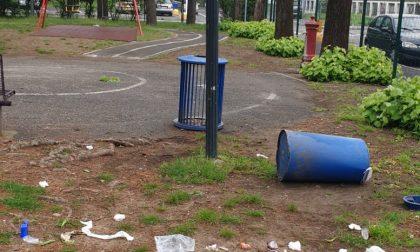 Vandali scatenati al Parco Perlini: Pogliano