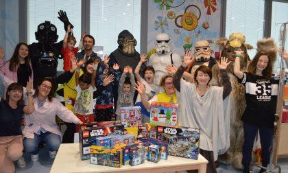 Star Wars arriva in Pediatria – LE FOTO