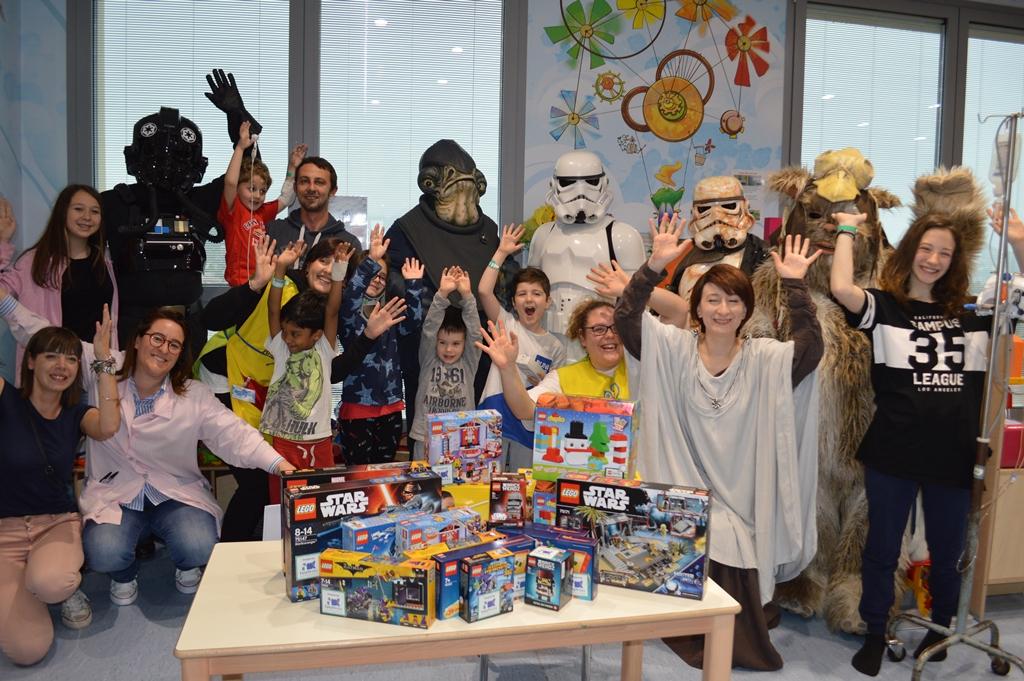Star Wars in pediatria