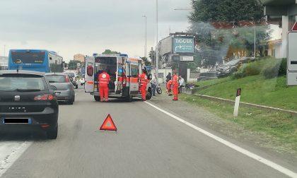 Rotonda maledetta della Feren: ancora un incidente FOTO