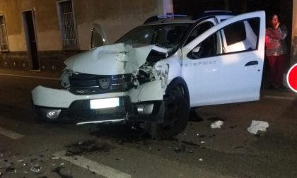 Rocambolesco incidente a San Vittore Olona FOTO