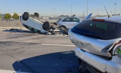 Incidente stradale sulla A4: traffico bloccato FOTO