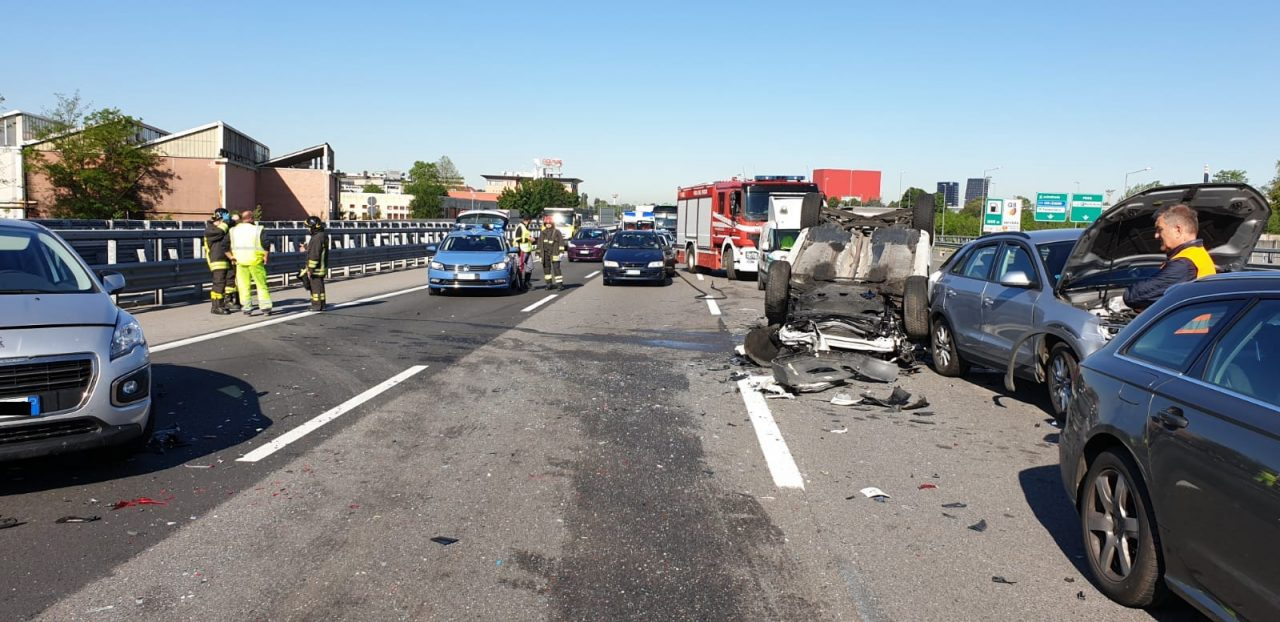 incidente stradale sulla A4