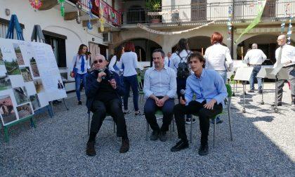 """Giuseppe Guzzetti nella """"sua"""" Turate per la Festa del cortile - IL VIDEO"""