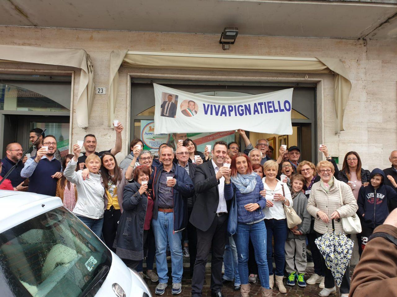 Castano Primo, Giuseppe Pignatiello sindaco alle elezioni 2019