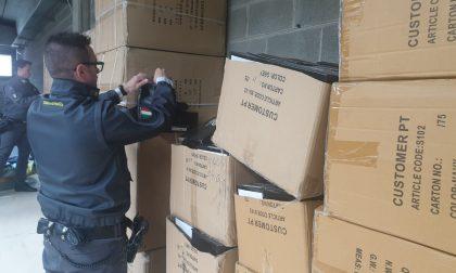 Sequestrate 3000 paia di scarpe contraffatte